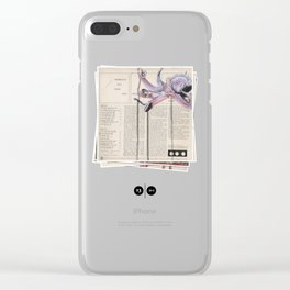 His Master's Voice - The Octopus Clear iPhone Case