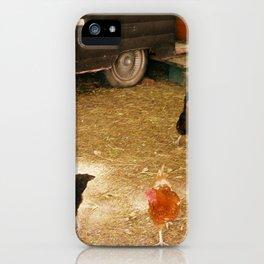 Hen House iPhone Case