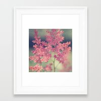 coral Framed Art Prints featuring Coral by Sandra Arduini