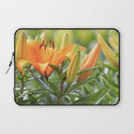 Orange Lily Laptop Sleeve