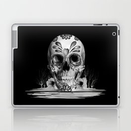 Pulled sugar, day of the dead skull Laptop & iPad Skin
