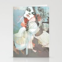 death Stationery Cards featuring Death  by Felicia Cirstea