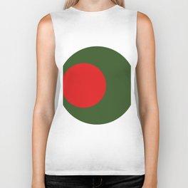 bangladesh flag Biker Tank
