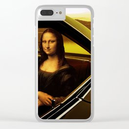 1968 Dodge Charger R/T - Driving Miss Mona Clear iPhone Case