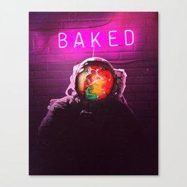 Baked Canvas Print