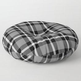 Plaid No. 48 Floor Pillow
