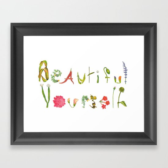 Extra Special Powers Framed Art Print