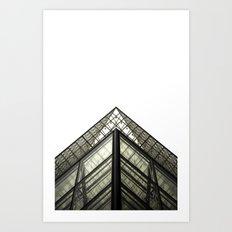 Abstract Louvre Art Print