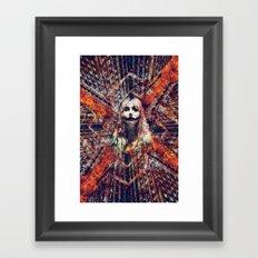 She wants the World to Burn Framed Art Print
