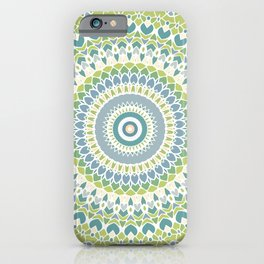 Garden Mandala iPhone Case