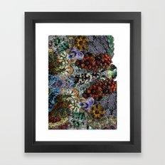 Psychedelic Botanical 15 Framed Art Print