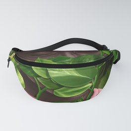 Green Mask Fanny Pack