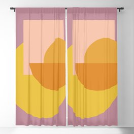 Shapes and Colors 53 Blackout Curtain