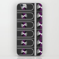 asexual iPhone & iPod Skins featuring Ace Pride by DomRuff