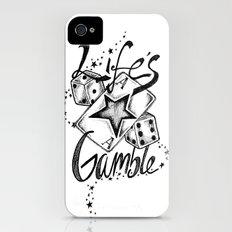 Life's A Gamble iPhone (4, 4s) Slim Case