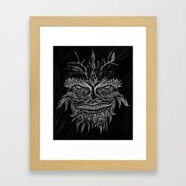 Forest Elemental Framed Art Print
