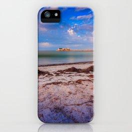 City Pier on Anna Maria Island iPhone Case