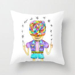 Young Magic Throw Pillow