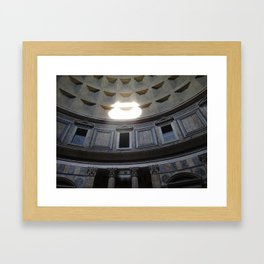 The Sun Pouring In Framed Art Print