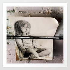 This is the Story of a Girl... Art Print
