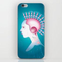 Cyber chick 002  iPhone Skin
