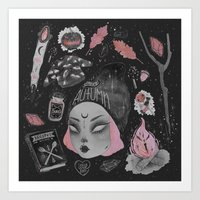 loll3 Art Prints featuring Magical ϟ Autumn by lOll3