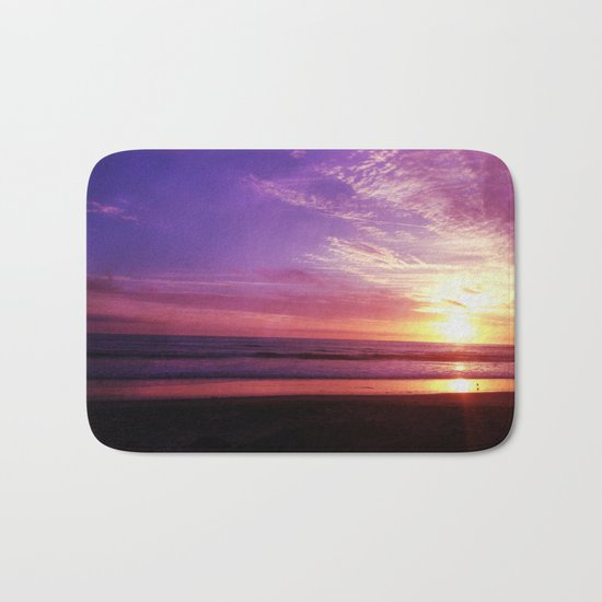 Photography + Color - Purple Daze Bath Mat