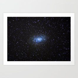Triangulum Galaxy Art Print