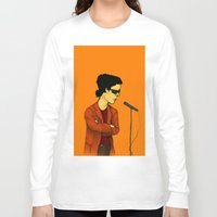 lou reed Long Sleeve T-shirts featuring Lou Reed by Nick Gibney