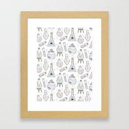 Potions Framed Art Print