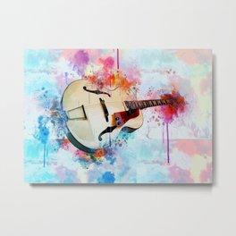 Electric Guitar Metal Print