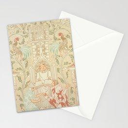 The House that Jack Built, Walter Crane Vintage Wallpaper Design Stationery Cards