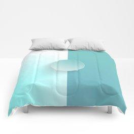 Light MoonStone Blue Comforters