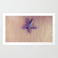 starfish Art Prints featuring Starfish by Taylor T