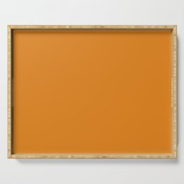Dark Cheddar - Fashion Color Trend Fall/Winter 2019 Serving Tray