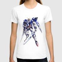 gundam T-shirts featuring Gundam Wing by bimorecreative