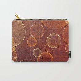 orange bubbles Carry-All Pouch
