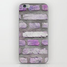 Venetian Bricks in Pink and Lavender iPhone Skin