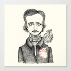 Allan Poe Canvas Print