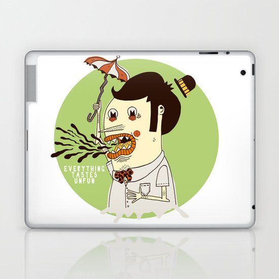 Everything Tastes Unfun Laptop & iPad Skin