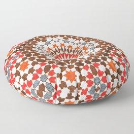 N64 - Traditional Geometric Moroccan Vintage Style Artwork Floor Pillow