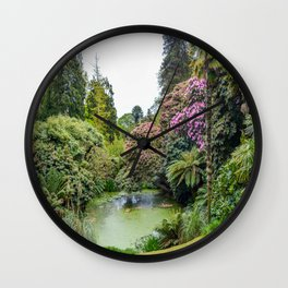 The Lost Gardens of Heligan - Top Pond Wall Clock