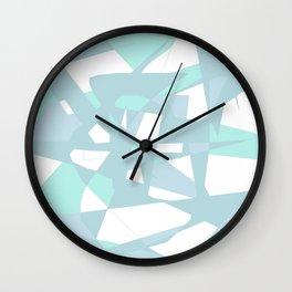 Crystal maze Wall Clock
