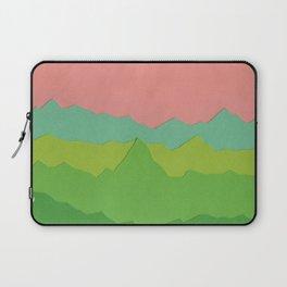 Green Mountains I Laptop Sleeve