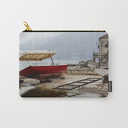 Rainy day in Perast Carry-All Pouch