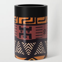 Tribal ethnic geometric pattern 021 Can Cooler