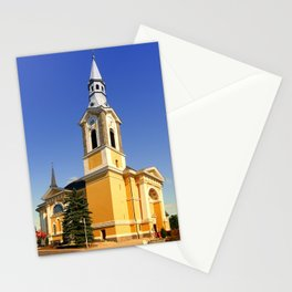 The village church of Niederkappel | architectural photography Stationery Cards