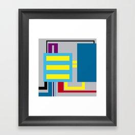 P.H. - Machine Framed Art Print