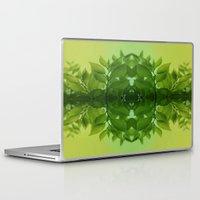leaf Laptop & iPad Skins featuring Leaf by Cs025