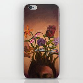 Flowers in Your Hair iPhone Skin